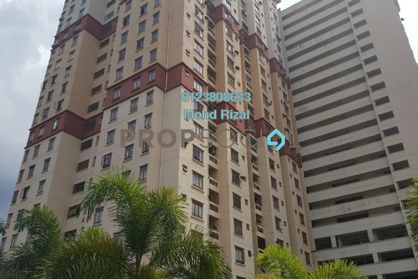 For Rent Apartment at Permai Putera, Ampang Leasehold Fully Furnished 3R/2B 1.8k