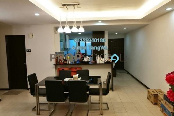 For Rent Condominium at Paradesa Tropika, Bandar Sri Damansara Freehold Fully Furnished 3R/2B 2k