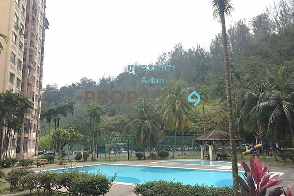 For Sale Condominium at Jade Tower, Ampang Leasehold Semi Furnished 2R/2B 268k