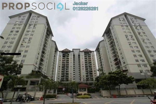 For Rent Condominium at Mentari Condominium, Bandar Sri Permaisuri Leasehold Semi Furnished 3R/2B 1.5k