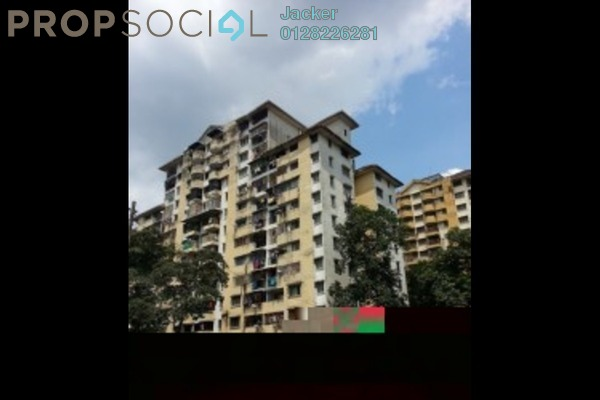 For Sale Apartment at Taman Miharja, Cheras Leasehold Semi Furnished 3R/2B 265k