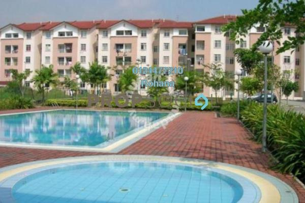 For Sale Apartment at Puncak Perdana, Shah Alam Leasehold Unfurnished 3R/2B 215k