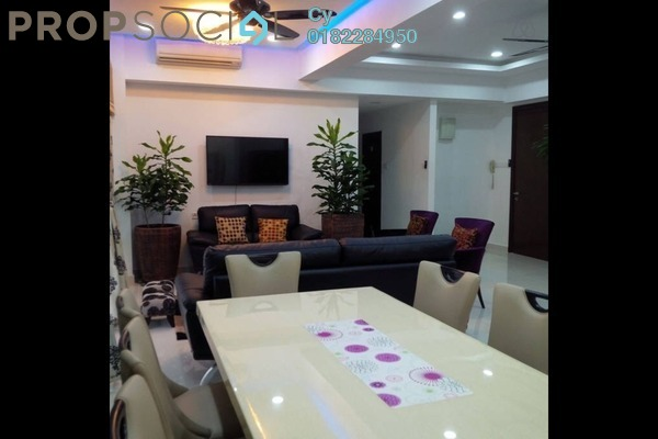 For Rent Condominium at Regalia, Putra Freehold Fully Furnished 3R/4B 5.2k