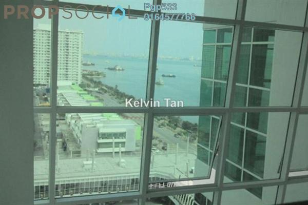 For Sale Apartment at The Maritime, Jelutong Leasehold Semi Furnished 2R/2B 760k