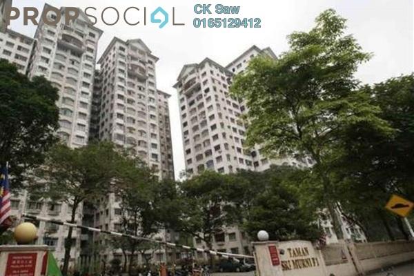 For Rent Apartment at Taman Selayang, Selayang Freehold Semi Furnished 3R/2B 900translationmissing:en.pricing.unit