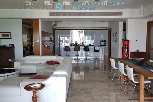 For Rent Condominium at 10 Mont Kiara, Mont Kiara Freehold Semi Furnished 4R/4B 12k