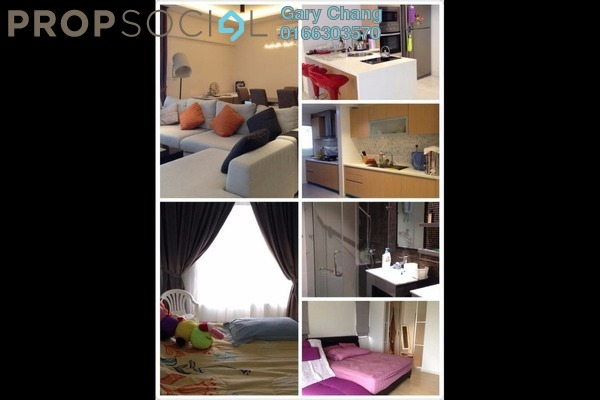 For Rent Condominium at Villa Orkid, Segambut Freehold Fully Furnished 4R/3B 2.8k