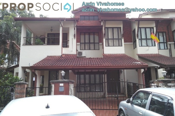For Sale Terrace at Lagenda 2, Bukit Jelutong Freehold Semi Furnished 4R/4B 1.5m