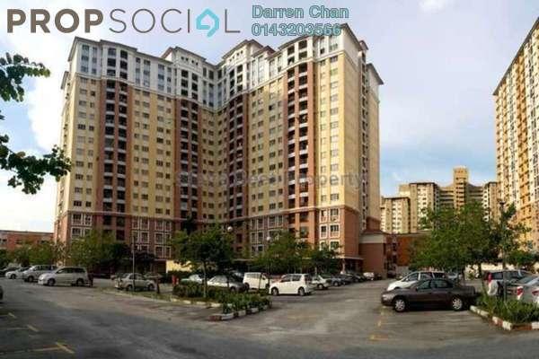 For Rent Apartment at Villa Tropika @ Pudu Impian II, Cheras Freehold Unfurnished 3R/2B 1k
