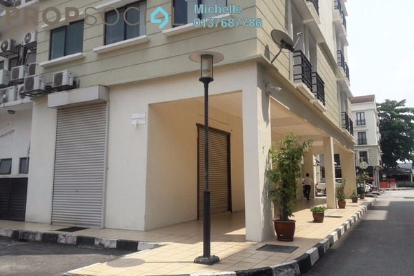 For Rent Shop at 3rd Mile Square, Old Klang Road Leasehold Unfurnished 1R/1B 4.6k