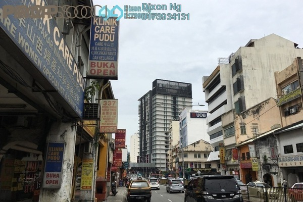 For Rent Shop at Petaling Street, Pudu Freehold Semi Furnished 0R/0B 8k