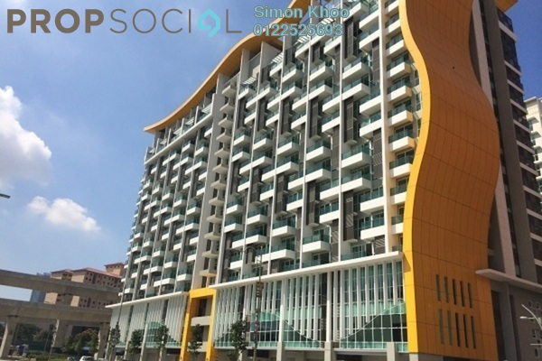 For Rent SoHo/Studio at Pacific Place, Ara Damansara Leasehold Semi Furnished 0R/1B 1.5k