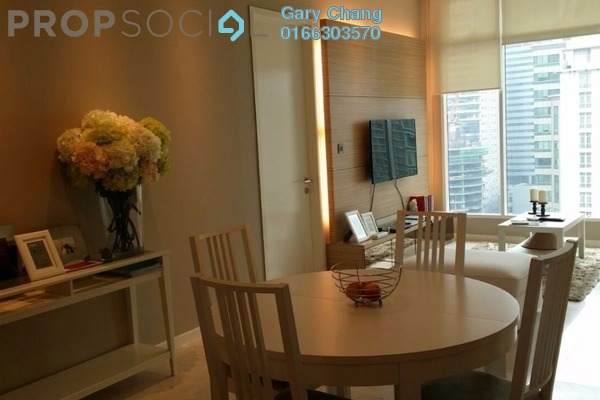 For Rent Serviced Residence at Soho Suites, KLCC Freehold Fully Furnished 2R/1B 4k