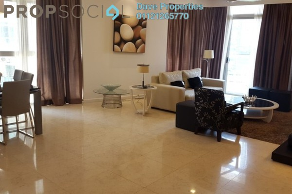 For Rent Condominium at Idaman Residence, KLCC Freehold Fully Furnished 3R/3B 5.5k