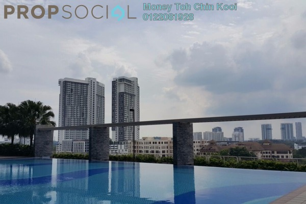 For Rent Serviced Residence at Shaftsbury Square, Cyberjaya Freehold Unfurnished 1R/1B 1.1k