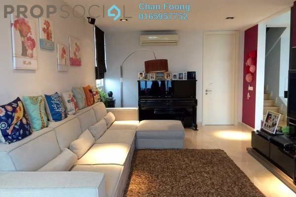 For Sale Condominium at Kiaramas Ayuria, Mont Kiara Freehold Semi Furnished 4R/4B 1.95m