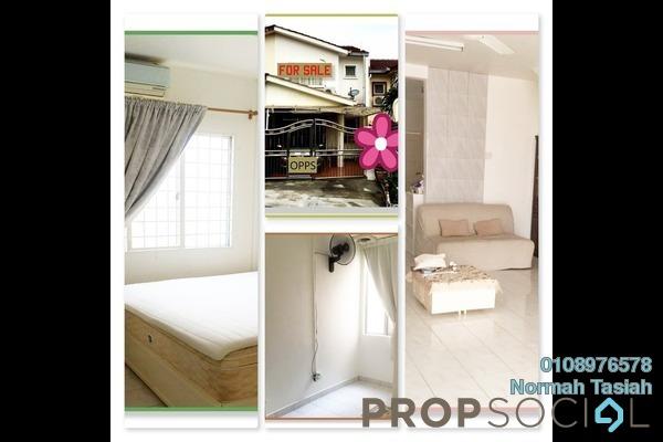 For Sale Terrace at Taman Selayang Mulia, Selayang Leasehold Semi Furnished 3R/3B 550k