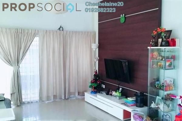 For Sale Townhouse at KiPark Sri Utara, Jalan Ipoh Leasehold Semi Furnished 3R/3B 890k