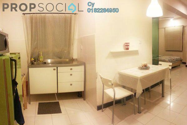 For Rent SoHo/Studio at Ritze Perdana 2, Damansara Perdana Leasehold Fully Furnished 0R/1B 1.8k