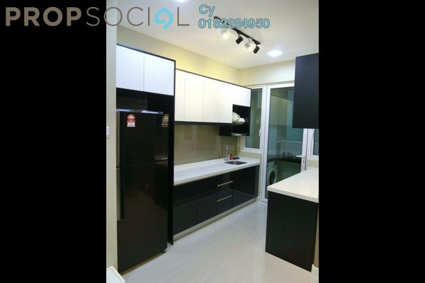 For Rent Condominium at Scenaria, Segambut Freehold Fully Furnished 3R/2B 2.4k