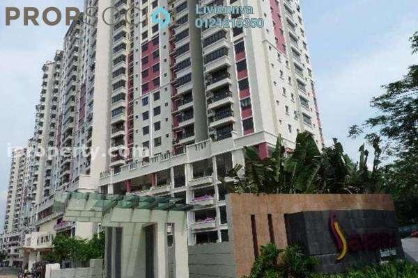 For Rent Condominium at Bukit OUG Condominium, Bukit Jalil Freehold Semi Furnished 3R/2B 1.1k