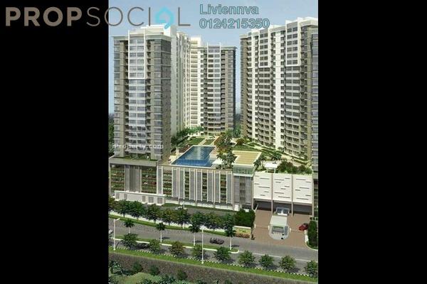 For Rent Condominium at Bukit OUG Condominium, Bukit Jalil Freehold Fully Furnished 3R/2B 1.4k