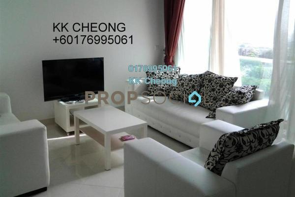 For Sale Serviced Residence at Tropicana City Tropics, Petaling Jaya Freehold Fully Furnished 3R/2B 950k