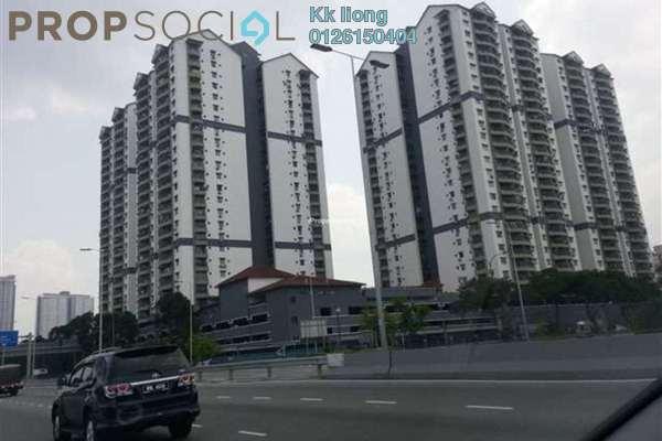 For Rent Condominium at Pandan Villa, Pandan Indah Leasehold Semi Furnished 3R/2B 1.35k