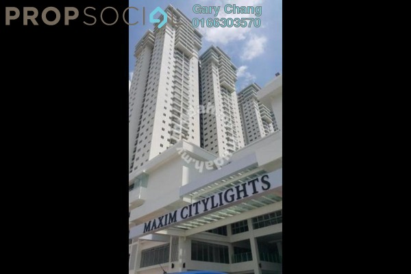 For Rent Serviced Residence at Maxim Citilights, Sentul Leasehold Unfurnished 3R/2B 1.4k