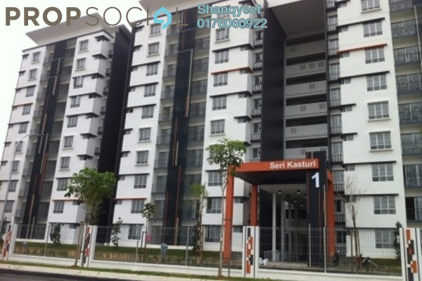 For Rent Condominium at Seri Kasturi, Setia Alam Freehold Semi Furnished 3R/2B 950translationmissing:en.pricing.unit