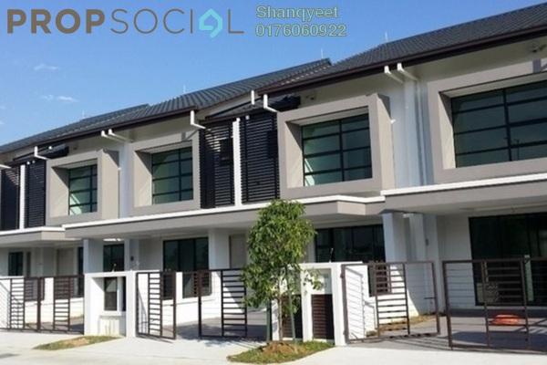 For Rent Terrace at Nafiri, Bandar Bukit Raja Freehold Unfurnished 4R/2B 1.6k