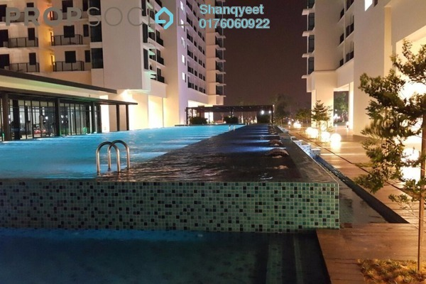 For Rent Condominium at Trefoil, Setia Alam Freehold Semi Furnished 0R/1B 1.2k