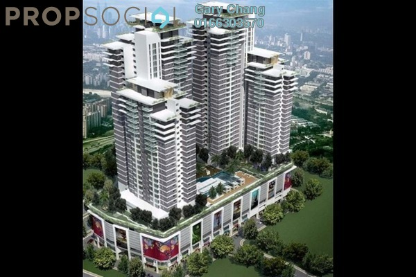For Rent Serviced Residence at Maxim Citilights, Sentul Leasehold Semi Furnished 3R/2B 1.3k