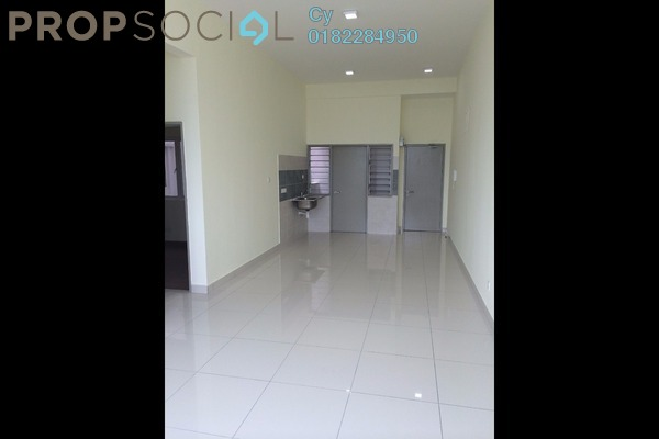 For Rent Condominium at Vue Residences, Titiwangsa Freehold Semi Furnished 3R/2B 2.55k
