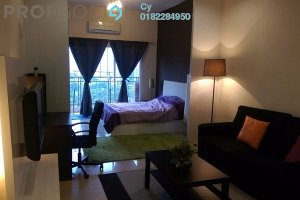 For Rent SoHo/Studio at Windsor Tower, Sri Hartamas Freehold Fully Furnished 0R/1B 1.8k