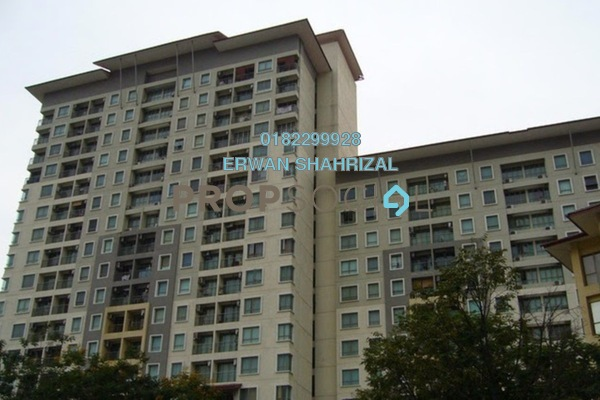 For Rent SoHo/Studio at Ritze Perdana 1, Damansara Perdana Leasehold Semi Furnished 0R/1B 1.3k