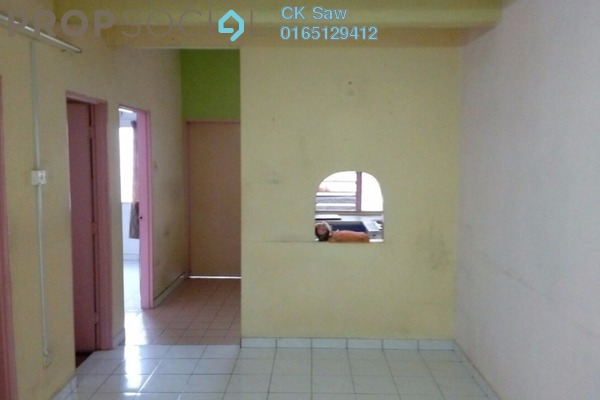 For Sale Townhouse at Taman Wangsa Permai, Kepong Leasehold Semi Furnished 3R/2B 375k