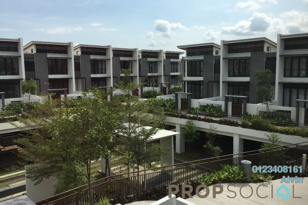 For Rent Superlink at Symphony Hills, Cyberjaya Freehold Fully Furnished 4R/4B 4k