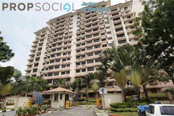 For Rent Condominium at Bayu Tasik 1, Bandar Sri Permaisuri Leasehold Semi Furnished 3R/2B 1.3k