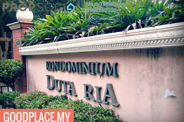 For Sale Condominium at Duta Ria, Dutamas Freehold Fully Furnished 3R/2B 620k