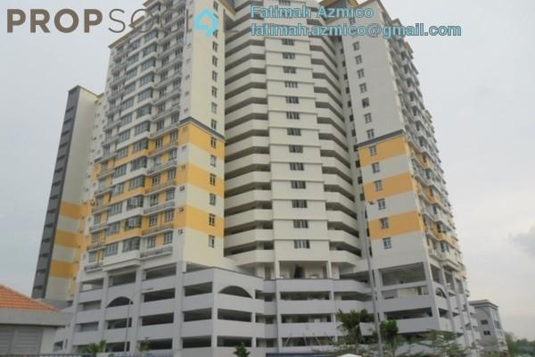 For Sale Apartment at Mutiara Anggerik, Shah Alam Leasehold Semi Furnished 3R/2B 448k