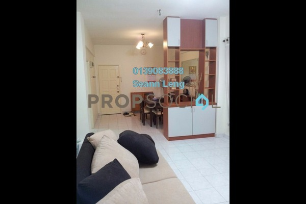 For Rent Apartment at Pelangi Damansara Sentral, Mutiara Damansara Leasehold Fully Furnished 3R/2B 1.75k