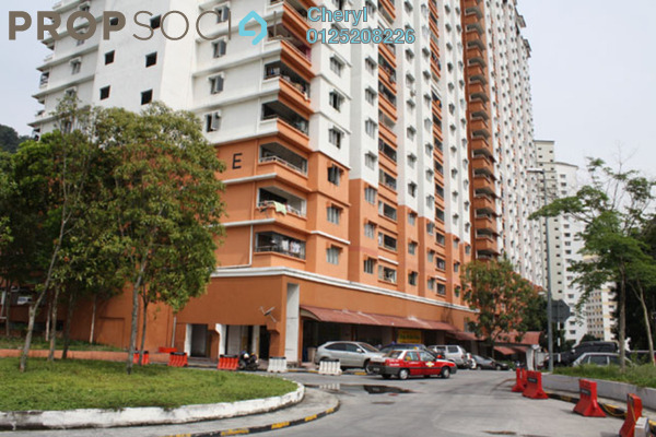 For Rent Apartment at Flora Damansara, Damansara Perdana Leasehold Semi Furnished 3R/2B 850translationmissing:en.pricing.unit