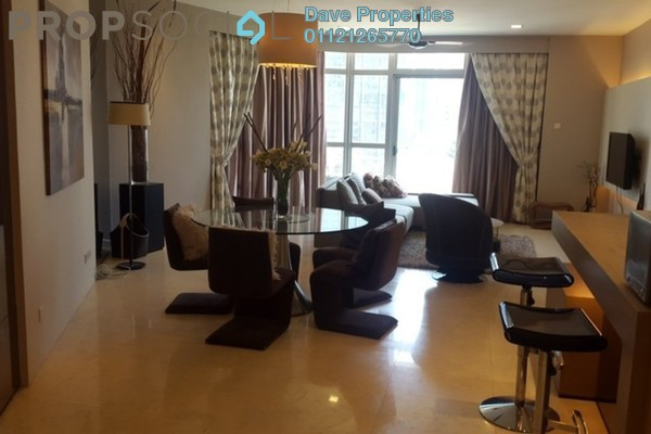 For Rent Condominium at Idaman Residence, KLCC Freehold Fully Furnished 3R/3B 6k