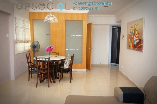 For Rent Condominium at Bukit Desa Condominium, Taman Desa Freehold Fully Furnished 3R/2B 2.4k