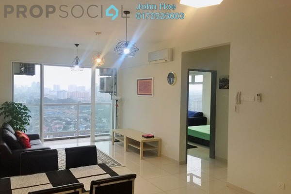 For Rent Condominium at MH Platinum Residency, Setapak Freehold Fully Furnished 3R/2B 2.2k