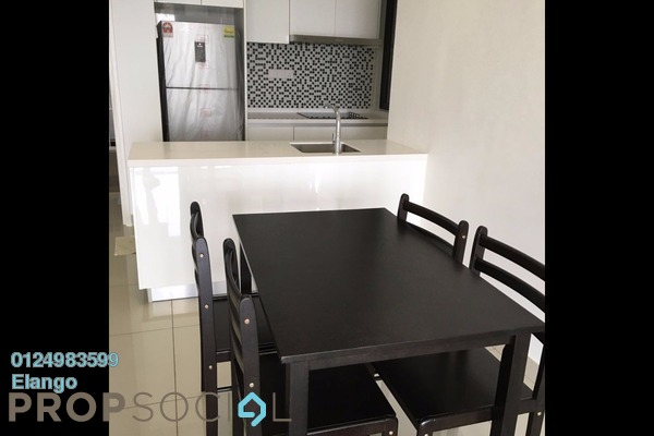 For Rent Condominium at Paramount Utropolis, Shah Alam Freehold Fully Furnished 2R/2B 2k