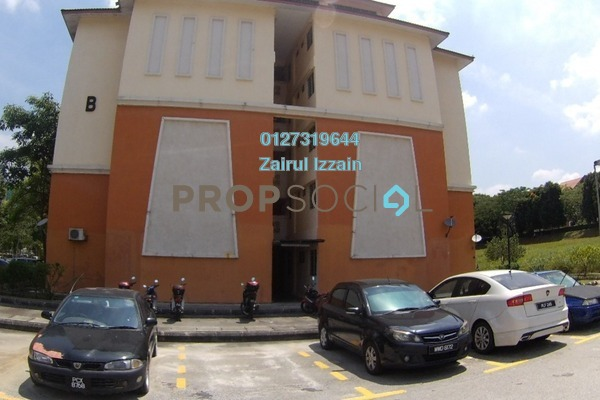 For Sale Apartment at Putra Damai Apartment, Putrajaya Freehold Unfurnished 3R/2B 255k