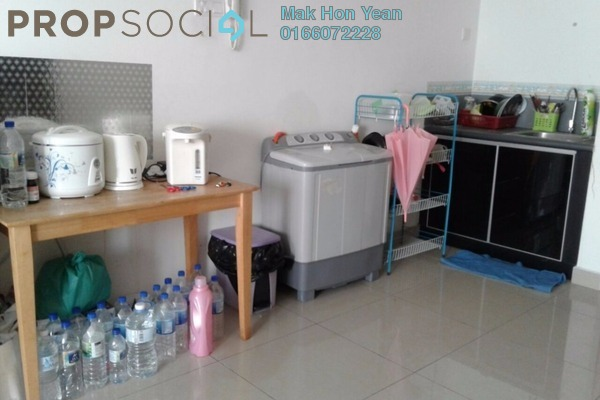 For Sale Condominium at Menara U, Shah Alam Freehold Semi Furnished 3R/1B 385k