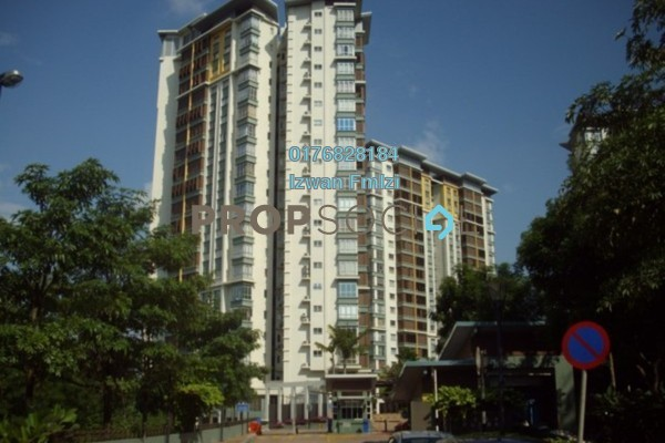 For Rent Condominium at Desa Putra, Wangsa Maju Leasehold Fully Furnished 3R/2B 3k